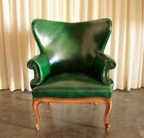 Magnificent Green Leather Wing Chair Buy Wing Chair Product On Alibaba Com Camellatalisay Diy Chair Ideas Camellatalisaycom