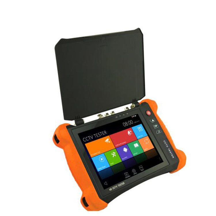 8 inch Retina touch screen 2048*1536 resolution 5 in 1 cctv tester X9 MOVTADHS IP,CVI,TVI,CVBS,AHD camera tester