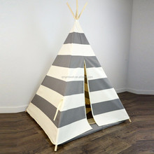 Hot Sale 6ft Canvas Kids Play Tent Tipi Tent