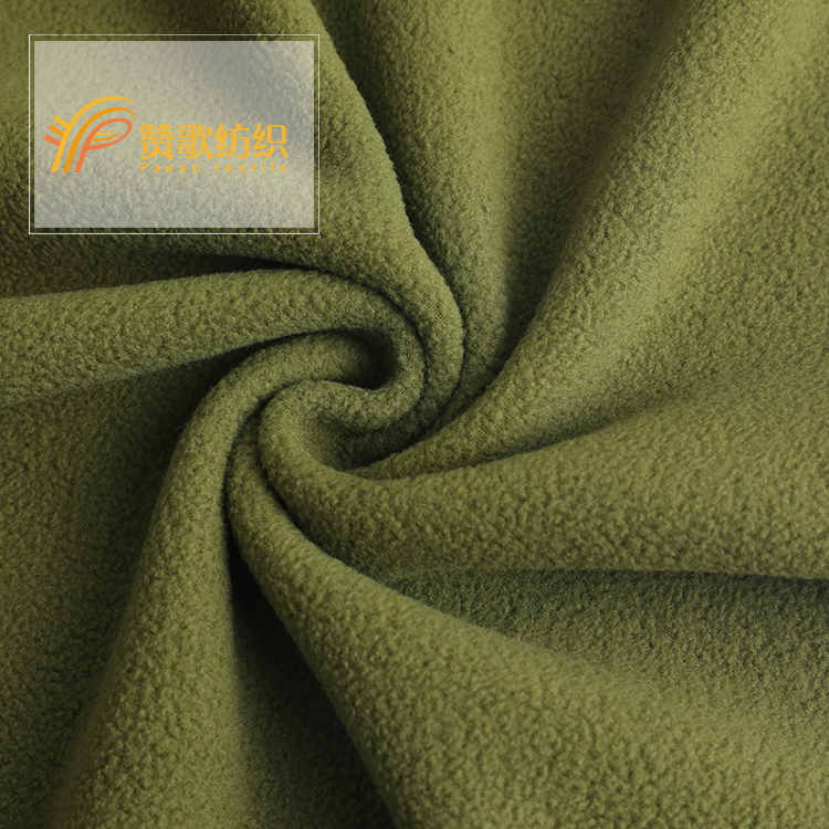 2018 new design low price polyester sherpa fleece faux fur fabric