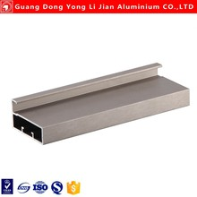 Deep process 6061 T6 Anodizing and sand blasting industrial aluminium profile