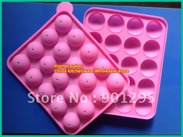 wholesesale new silicone non stick cake pop set baking tray mold birthday wedding party no color. Black Bedroom Furniture Sets. Home Design Ideas