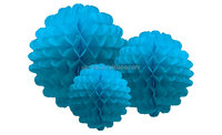 Chinese brand best sell bauble tissue honeycomb decorations