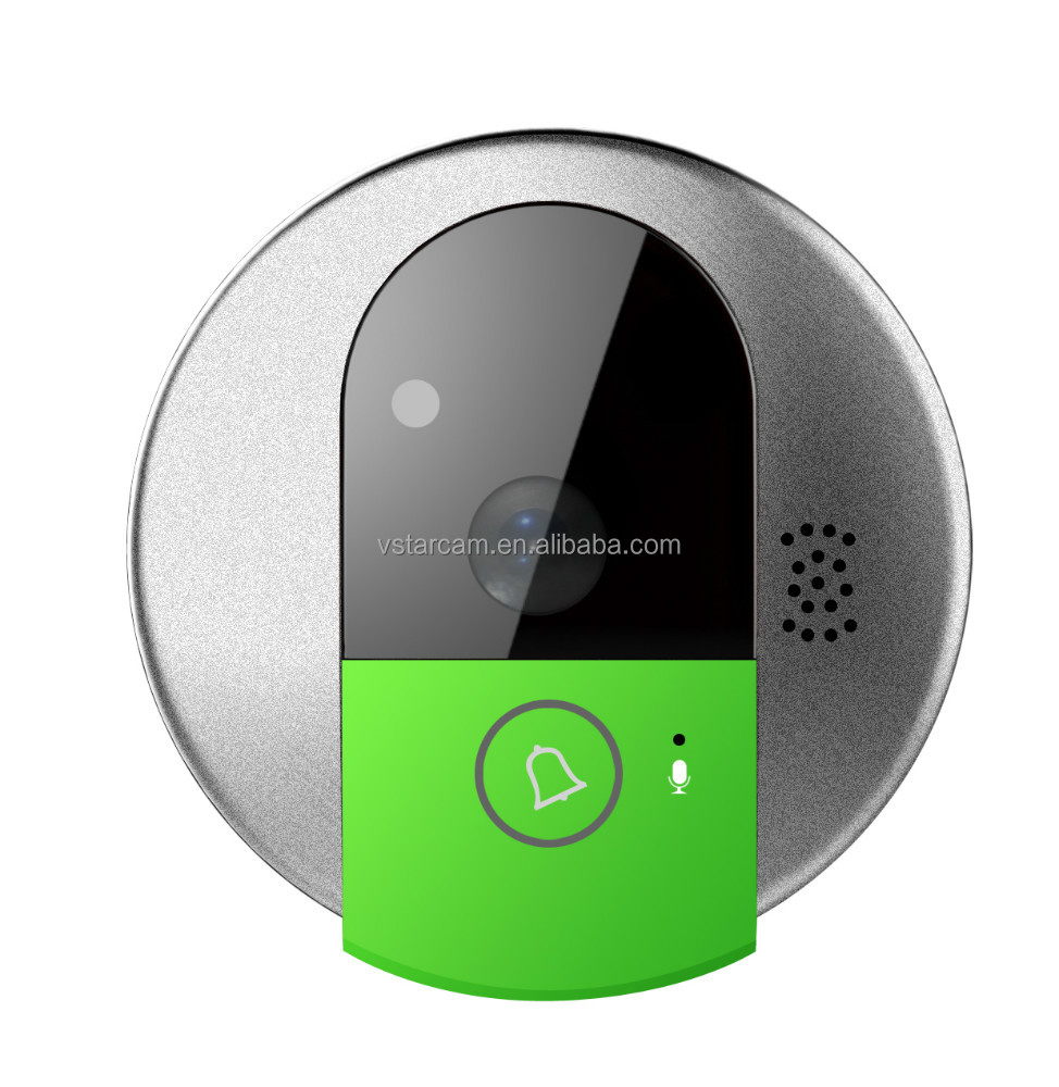 Vstarcam 2015 New Arrival wireless doorbell video with 720P HD picture quality IOS Android supported