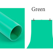 100*200cm Large solid Green studio PVC background for photography