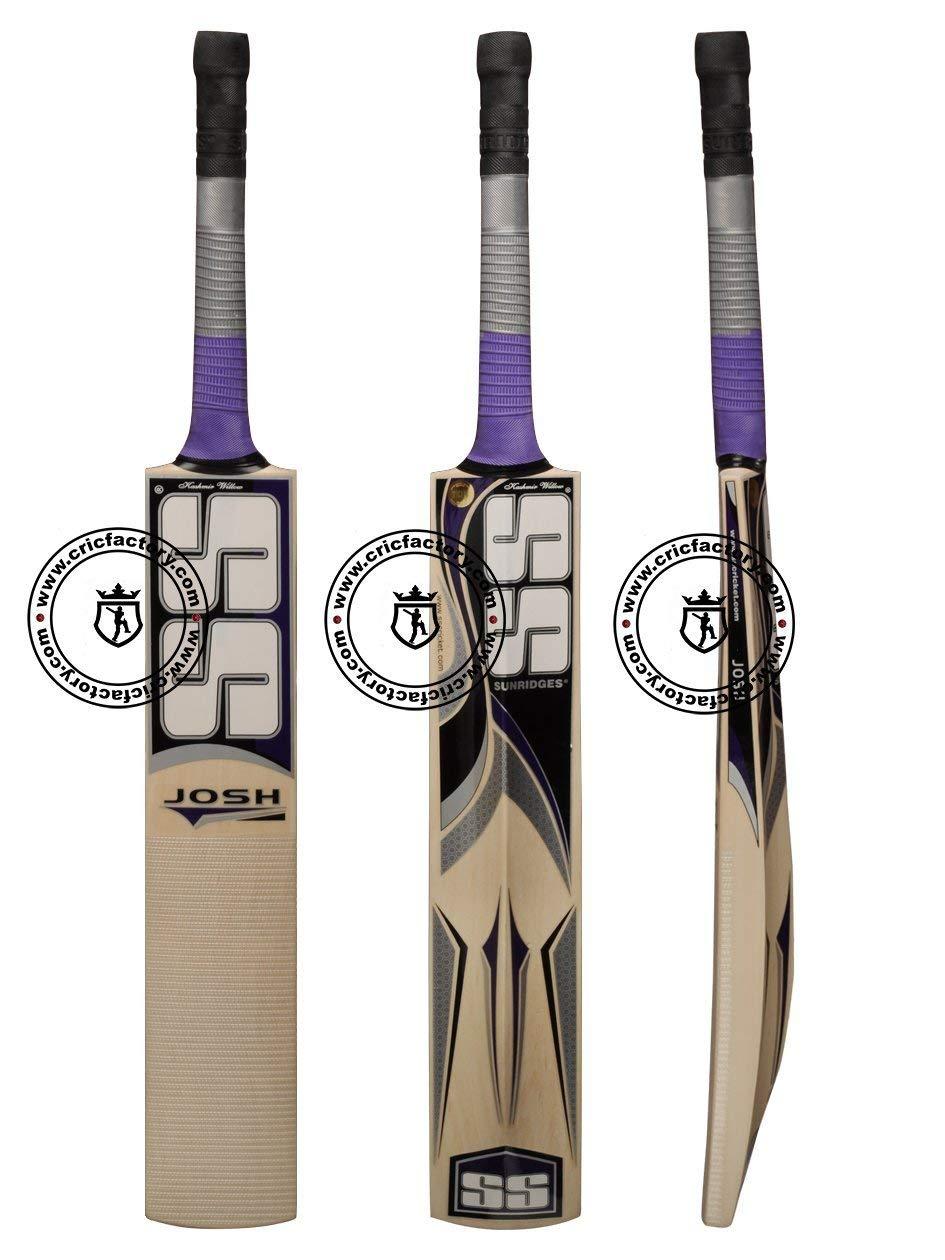 SS - Sunridges SS Josh Kashmir Willow Cricket Bat, Junior-Size 5