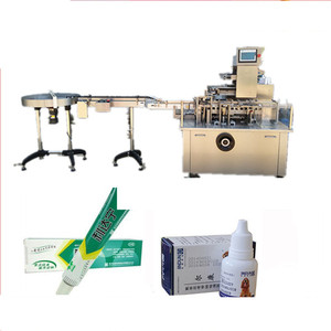 Fully auto eliquid packing machine tinxture bottle cartoner carton box packer