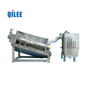 Activated Sludge Dewatering Wastewater Treatment Screw Filter Press