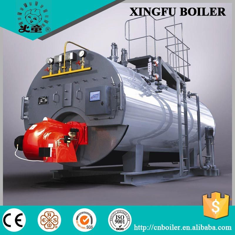 Natural Gas And Oil Fired Steam Boiler For Oil Refinary Mill - Buy ...