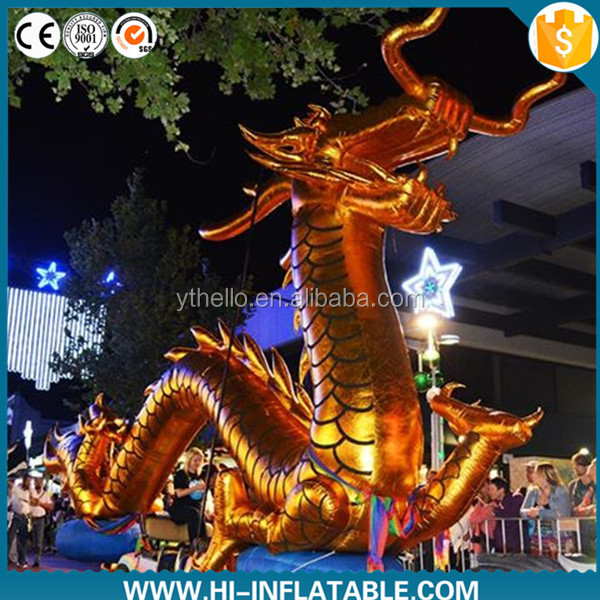 2016 giant green inflatable flying dragon,inflatable flying dragon cartoon for sale,inflatable giant dragon