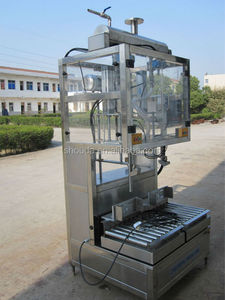 Factory price fully automatic bottle Canola oil weighing and filling ma with CE,ISO