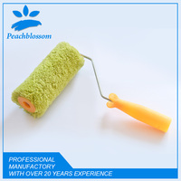 Green Acrylic Paint Roller Brush Round Head In Brush Manufacturer