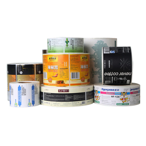 Customized direct thermal label rolls self adhesive label sticker