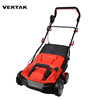 VERTAK electric power artificial grass brush plastic lawn sweeper machine with catcher bag
