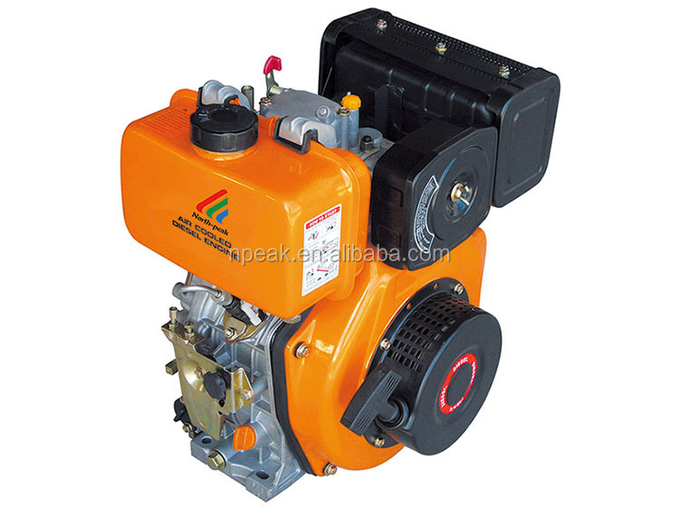 cheap half speed light diesel oil manual start small compact diesel engine