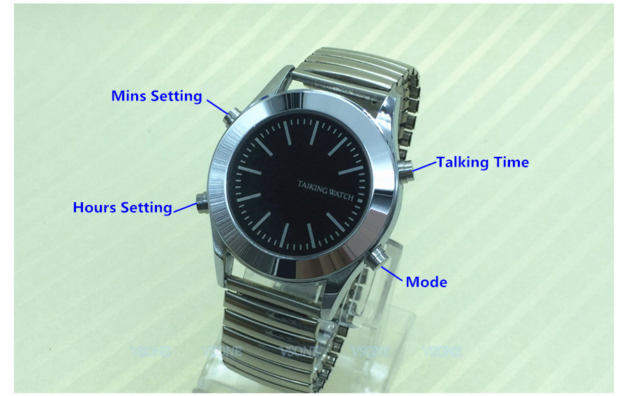 Portuguese Talking Watch for Blind or Visually Impaired ...