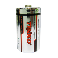 Carbon zinc battery R20P size D um1 disposable dry cell battery for toys