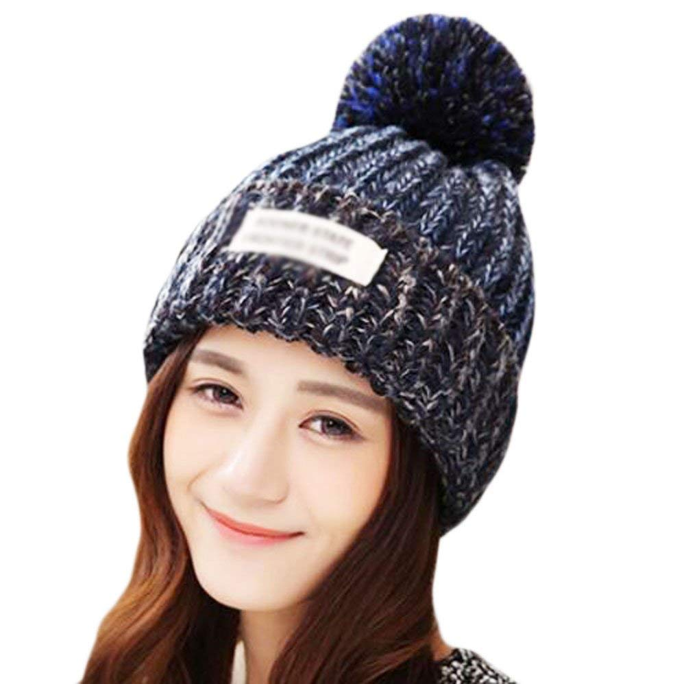 9136ac7a262 Get Quotations · George Jimmy Navy Winter Outdoor Fashion Hat Warm Knitting  Wool Hat