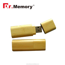 Dr.memory Eco-friendly nature wooden/wood usb flash drive 2.0 rectangle wooden usb stick key with your custom logo