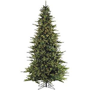 Fraser Hill Farm Pre-Lit 9' Southern Peace Pine Artificial Christmas Tree, Smart String Lighting