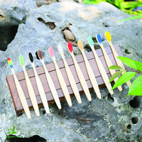 disposable bamboo toothbrush Wholesale wooden toothbrush