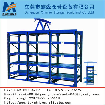 Warehouse Storage Drawer Type Slide Rack
