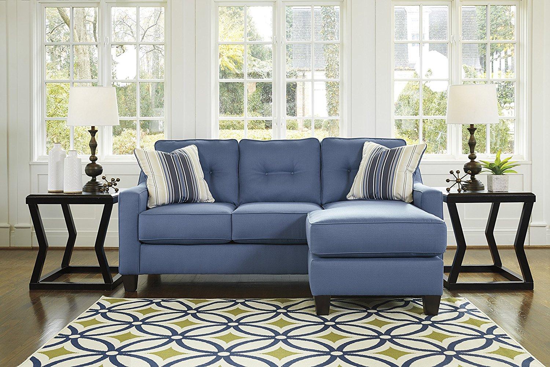 Buy Benchcraft - Aldie Nuvella Contemporary Sofa Chaise ...