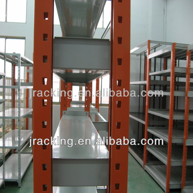 Jracking Storage Solutions long span shop shelving units