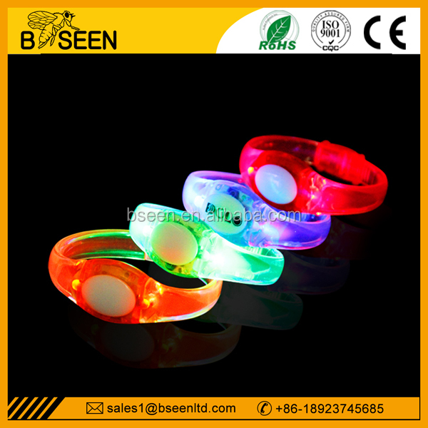 Christmas party bracelet cheap led bracelet child electronic bracelet
