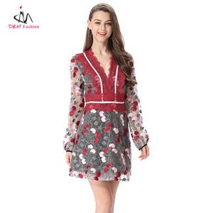 y China proveedores bordado vestido fabricantes mexicano Vestido de en qgXXwrI