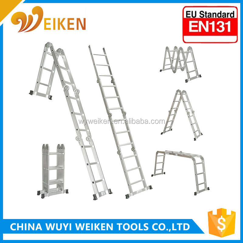 FOLDING ESCAPE FIRE LADDER EMERGENCY LADDER EN131 APPROVAL WK-103