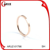 14k gold jewelry wholesale luxurious Wedding Rose Gold Ring For Man
