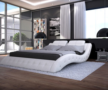 White And Black Sex Bed In King Size Or Queen Size