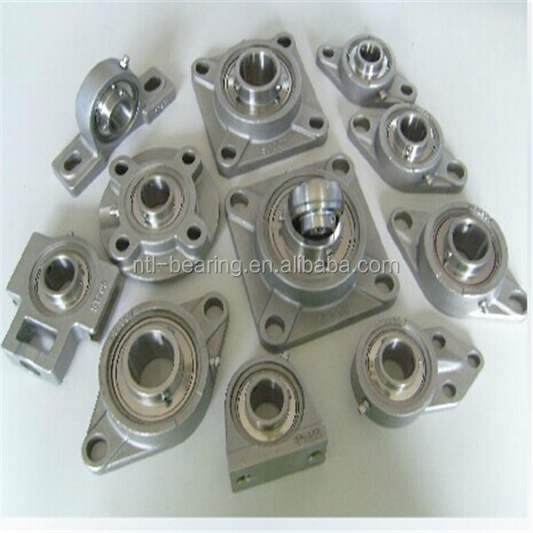 SUCFL Series Stainless Steel Bearings With Housings SUCFL210