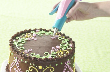 Diy Pastry Icing Piping Bag Nozzle Tips Fondant Cake Sugarcraft Decorating Pen New Tools Kitchen Accessories For