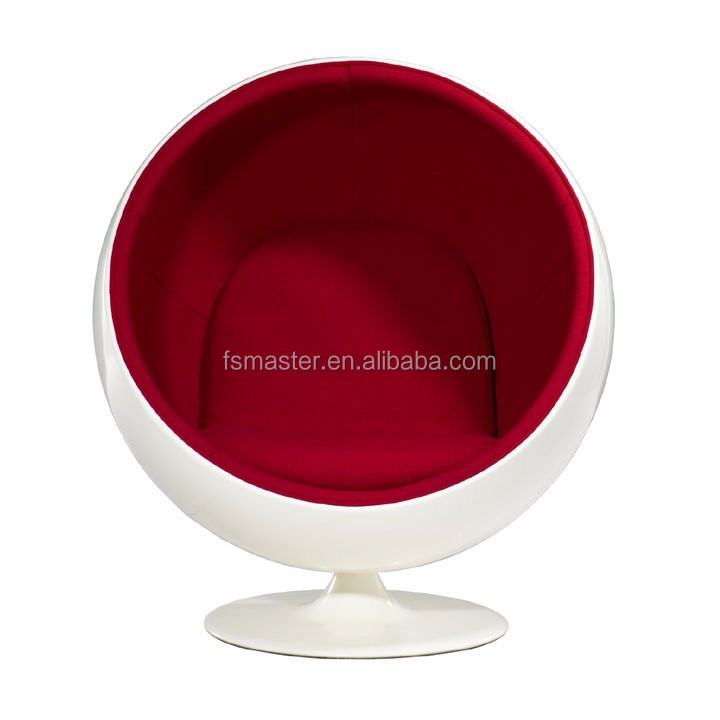 top quality armchair Eero Aarnio egg round ball chair