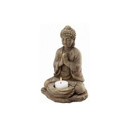 Custom budda candle hoder resin crafts