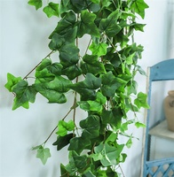 F-3414 Artificial Ivy Leaves Garland Plants Vine Green Hanging Ivy Vines Wall Home Wedding Hanging Decoration