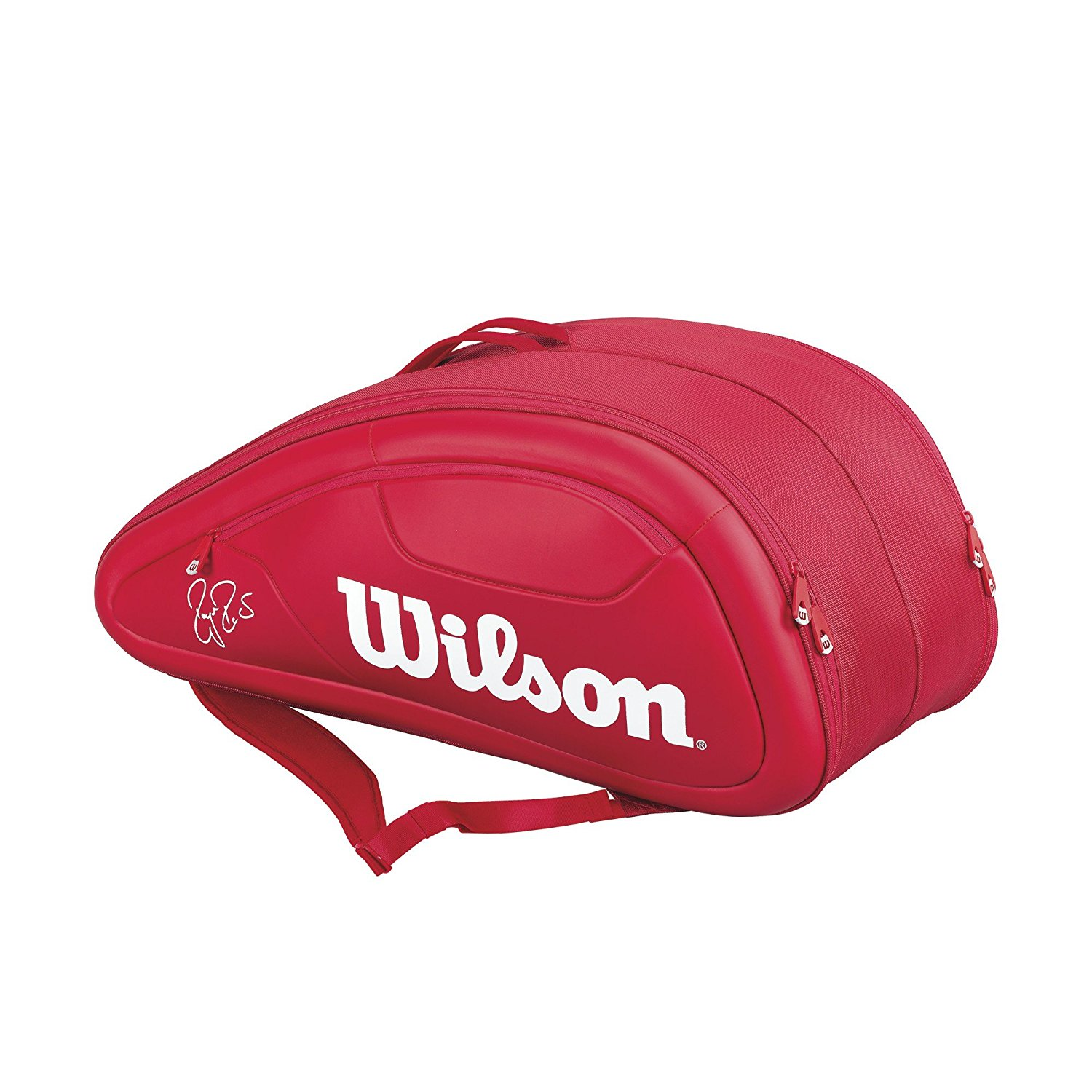 9f457cfde1fd6 Get Quotations · Wilson Federer DNA Collection Racket Bag (Holds up to 12)
