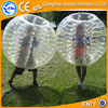 Playful funny soccer zorb ball/bubble glass ball, top quality rubber latex suit for sale