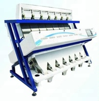intelligent image double side ccd camera grain color sorter/beans rice sorting machine