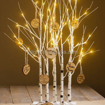 Pre Lit Wishing Led Birch Tree Lights