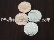 token metal coin with clad color