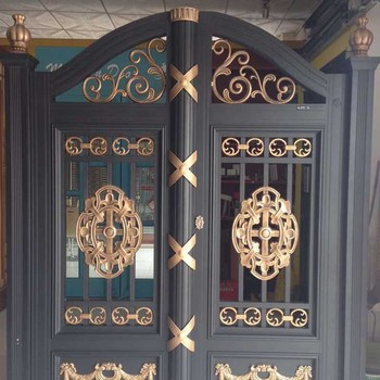 Best price fashion main gate design house door for home