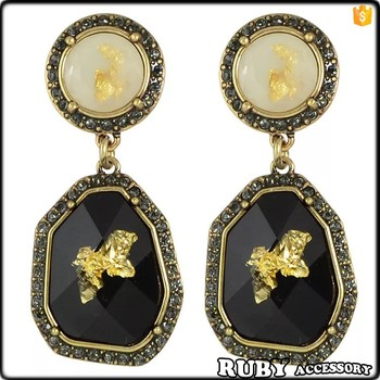 shot gold product shaped round dome pear model drop locke and earrings stud elizabeth