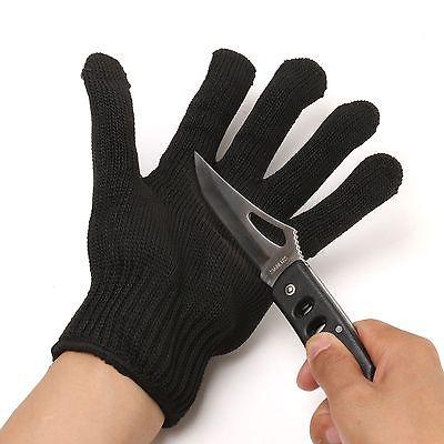1 шт. Dyneema волокна с стальной проволоки контекстной рабочих защитные перчатки анти-истиранию устойчивы уровне 5