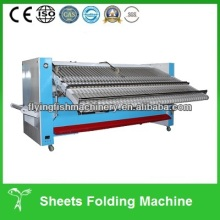 Professional automatic laundry sheets folder machine