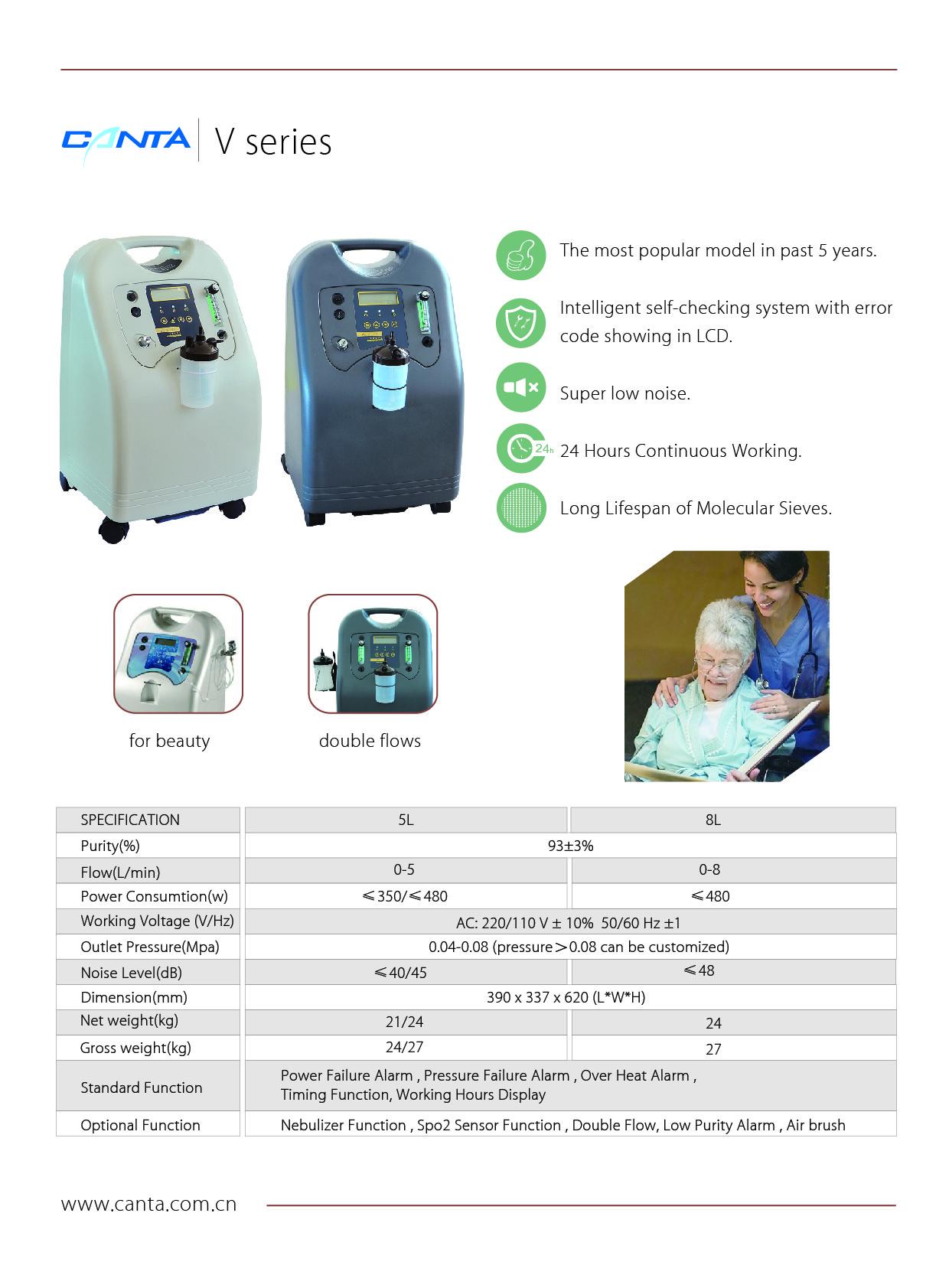 Health Medical Care Nebulization V8 Filter Oxygen