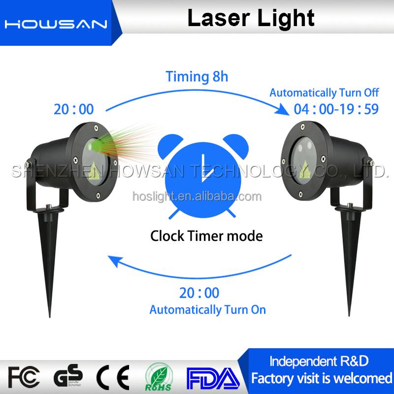 D coration de no l int rieur et ext rieur jardin lampe d corative elf laser clairage spectacle for Laser noel interieur