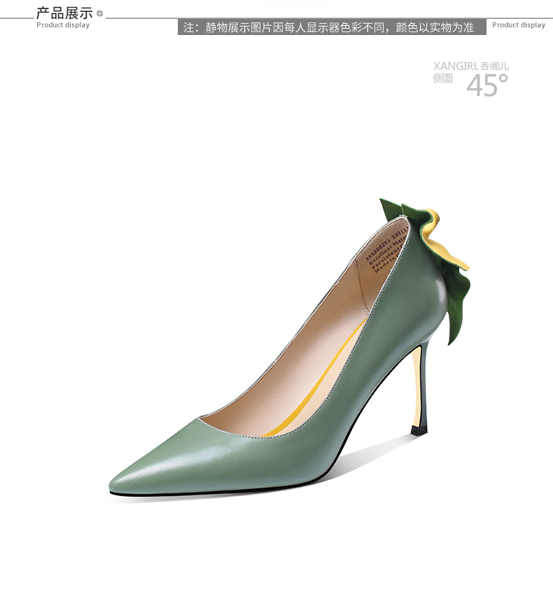 genuine office women leather for wear party Luxury shoes 6Pzwdzq